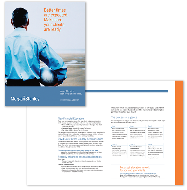 Morgan Stanley <br> Sales-in-a-box <br> Campaign