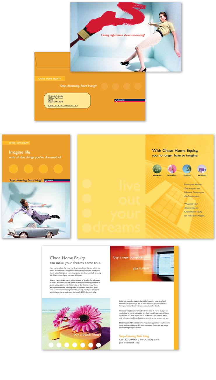 Chase <br> Home Equity <br> Direct Mail