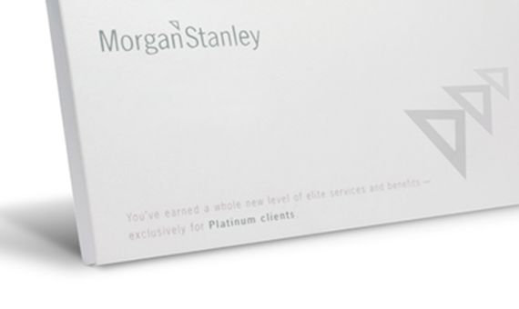 Morgan Stanley <br> Direct Mail <br> Package